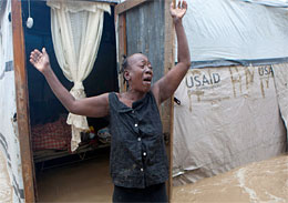 Hurricane Sandy terrorizes vunerable Haiti